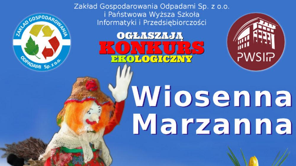 Konkurs Ekologiczny Wiosenna Marzanna