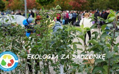 """Zakończenie akcji """"Ekologia za sadzonkę"""""""